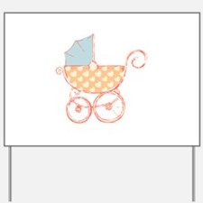 Baby Carriage Yard Sign