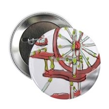 "Milkpaint Wheel 2 2.25"" Button (10 pack)"