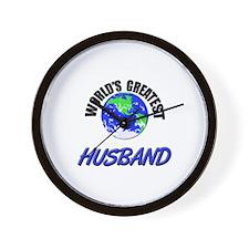 World's Greatest HUSBAND Wall Clock