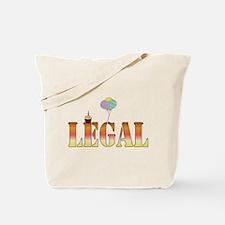 Finally Legal Birthday Tote Bag