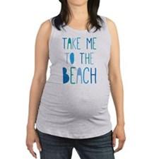 Cute Summertime Maternity Tank Top