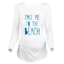 Cute Summer Long Sleeve Maternity T-Shirt