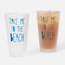 Unique Beachy Drinking Glass