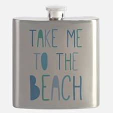 Funny Beach Flask
