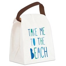 Cute Surf Canvas Lunch Bag