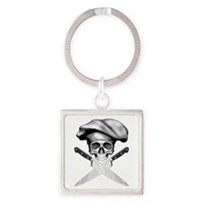 Chef Skull: 2 Keychains