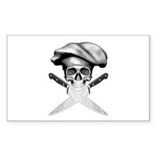Chef Skull: 2 Decal