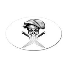 Chef skull: v2 Wall Decal