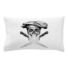 Chef skull: v2 Pillow Case