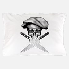 Chef skull: v2 Pillow Case