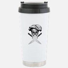 Chef skull: v2 Stainless Steel Travel Mug