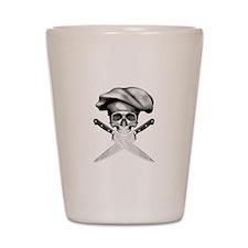 Chef Skull: 2 Shot Glass