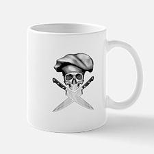 Chef skull: v2 Small Small Mug