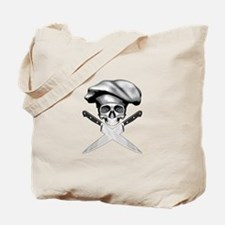 Chef skull: v2 Tote Bag