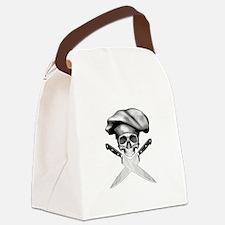 Chef skull: v2 Canvas Lunch Bag