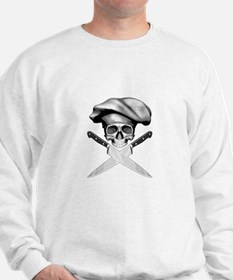 Chef skull: v2 Sweatshirt