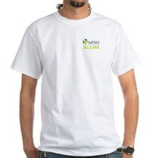 White Alum Pocket Logo T-Shirt