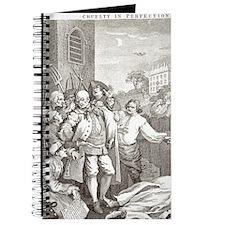 William Hogarth's Stages of Cruelty, Cruel Journal