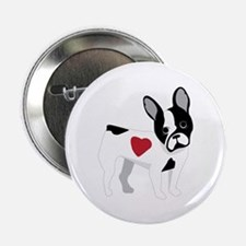 """French Bulldog 2.25"""" Button (10 pack)"""