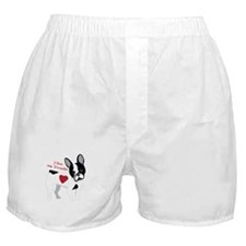 Love My Frenchie Boxer Shorts