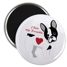 Love My Frenchie Magnets