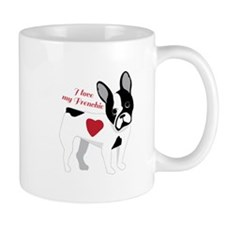 Love My Frenchie Mugs