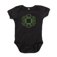 Electric Circuit Board Processor Baby Bodysuit