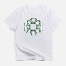 Electric Circuit Board Processor Infant T-Shirt