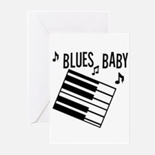 Blues Baby Greeting Cards