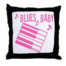 Blues Baby Throw Pillow