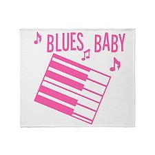 Blues Baby Throw Blanket