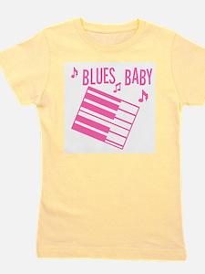 Blues Baby Girl's Tee