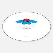 Super Me Sticker (Oval)