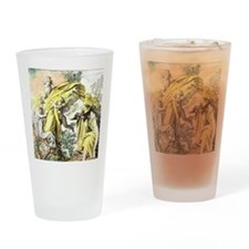 Lord appears to Moses from the burn Drinking Glass
