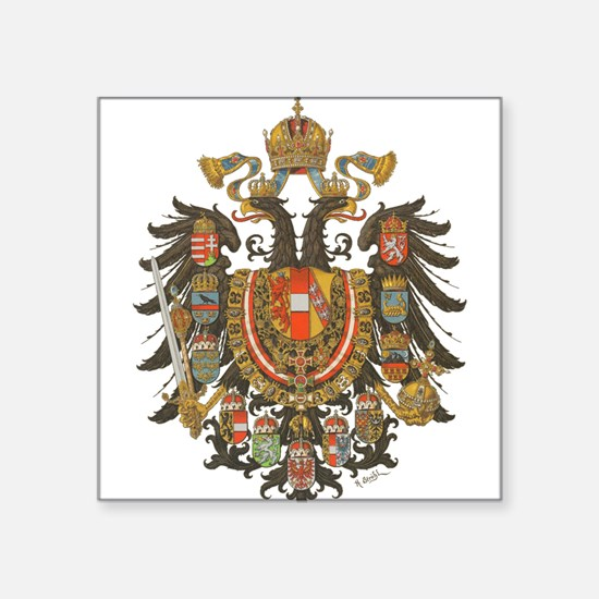 Austria-Hungary coat of arms Sticker