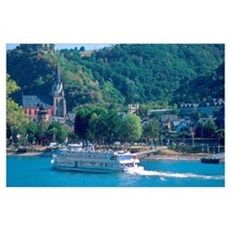 Germany along the Rhine River, Germany along the R Poster
