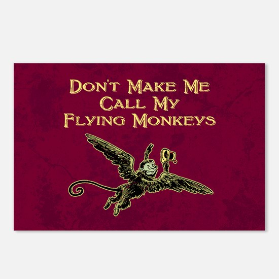 Call My Flying Monkeys Postcards (Package of 8)