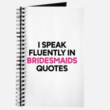 Bridesmaids Quotes Journal