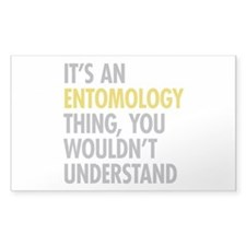 Its An Entomology Thing Decal