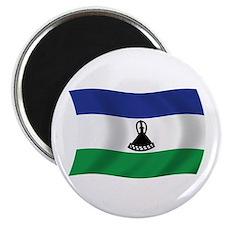 """Lesotho Flag 2.25"""" Magnet (100 pack)"""