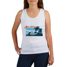Retro San Diego Surf Tank Top