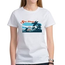 Retro San Diego Surf T-Shirt
