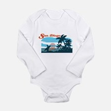 Retro San Diego Surf Body Suit
