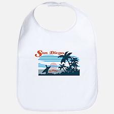 Retro San Diego Surf Bib