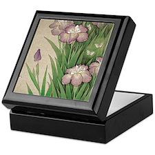 Unique Iris Keepsake Box