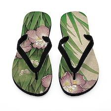 Unique Botanical Flip Flops