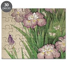 Cute Iris Puzzle