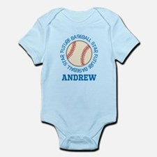Future Baseball Star personalized Body Suit