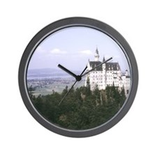 Neuschwanstein Castle built for Ludwig  Wall Clock