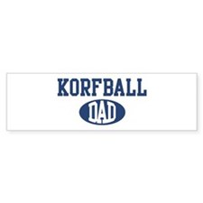 Korfball dad Bumper Bumper Sticker